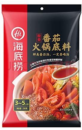 海底撈(かいていろう)のトマトスープ